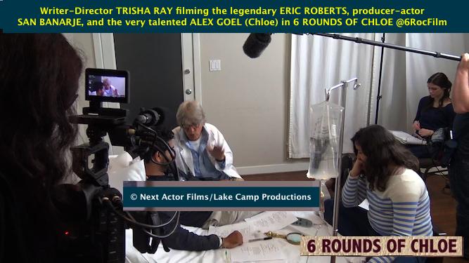 Actor Eric Roberts in Next Actor Film 6 ROUNDS OF CHLOE