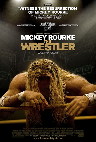 The Wrestler poster by ANTWRANGLER.