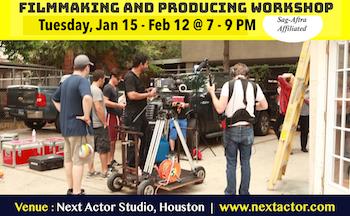 Filmmaking Class in Houston
